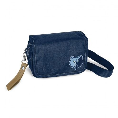 Memphis Grizzlies Ribbon Waist Pack Purse