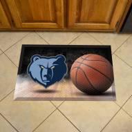 Memphis Grizzlies Scraper Door Mat