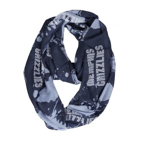 Memphis Grizzlies Silky Infinity Scarf