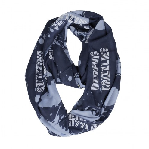 Memphis Grizzlies Silky Infinity Scarf