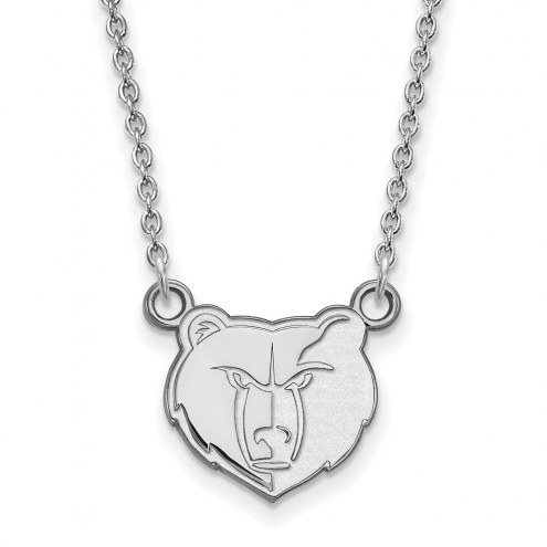 Memphis Grizzlies Sterling Silver Small Pendant Necklace