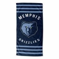 Memphis Grizzlies Stripes Beach Towel
