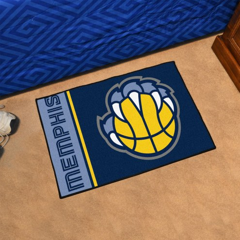 Memphis Grizzlies Uniform Inspired Starter Rug