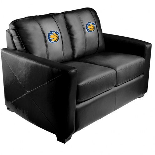 Memphis Grizzlies XZipit Silver Loveseat with Secondary Logo