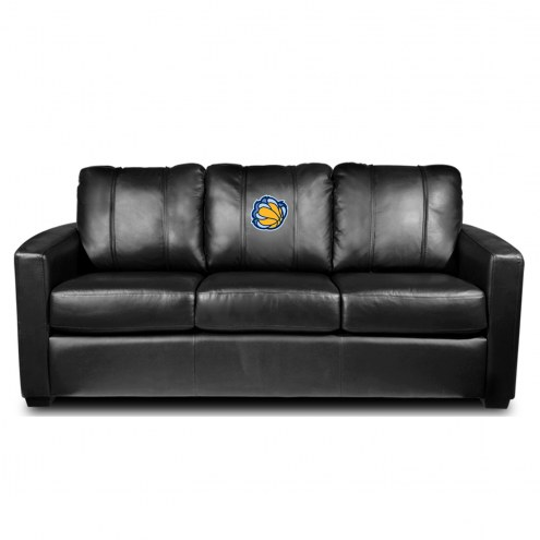 Memphis Grizzlies XZipit Silver Sofa with Secondary Logo