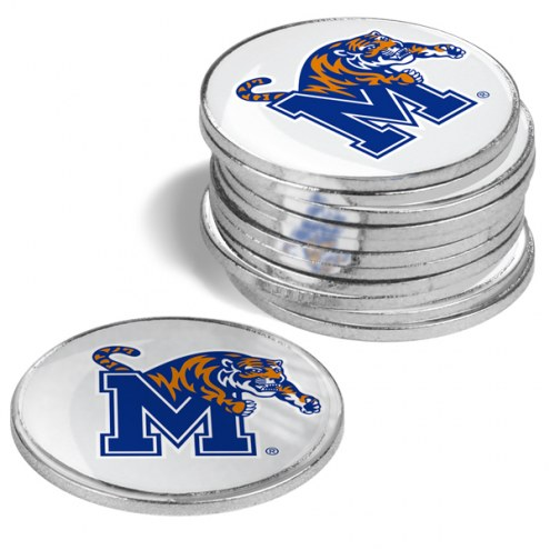 Memphis Tigers 12-Pack Golf Ball Markers
