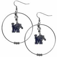 """Memphis Tigers 2"""" Hoop Earrings"""
