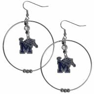 "Memphis Tigers 2"" Hoop Earrings"