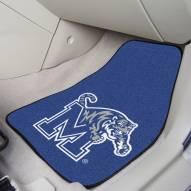Memphis Tigers 2-Piece Carpet Car Mats