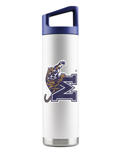 Memphis Tigers 22 oz. Stainless Steel Powder Coated Water Bottle
