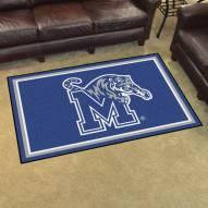 Memphis Tigers 4' x 6' Area Rug