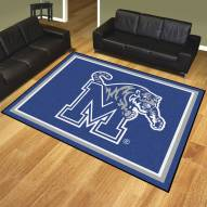 Memphis Tigers 8' x 10' Area Rug