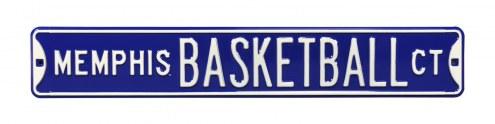 Memphis Tigers Basketball Street Sign