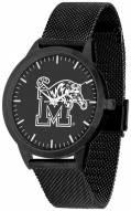 Memphis Tigers Black Dial Mesh Statement Watch