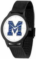 Memphis Tigers Black Mesh Statement Watch
