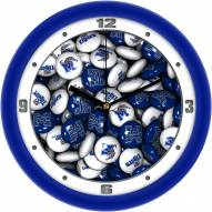 Memphis Tigers Candy Wall Clock