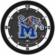 Memphis Tigers Carbon Fiber Wall Clock