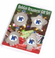 Memphis Tigers Christmas Ornament Gift Set