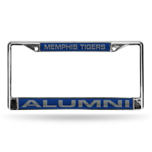 Memphis Tigers Chrome Alumni License Plate Frame