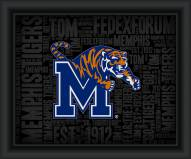 Memphis Tigers College Word Cloud