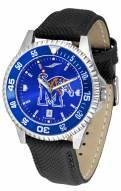 Memphis Tigers Competitor AnoChrome Men's Watch - Color Bezel