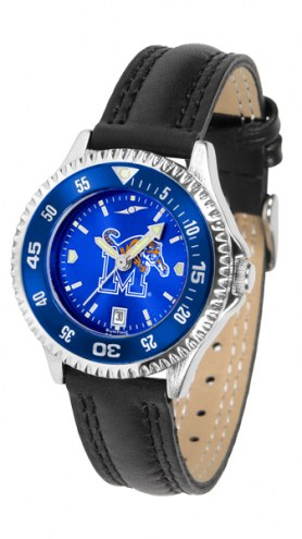 Memphis Tigers Competitor AnoChrome Women's Watch - Color Bezel