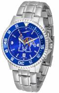 Memphis Tigers Competitor Steel AnoChrome Color Bezel Men's Watch