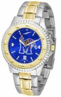 Memphis Tigers Competitor Two-Tone AnoChrome Men's Watch