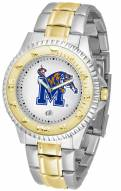 Memphis Tigers Competitor Two-Tone Men's Watch