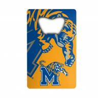 Memphis Tigers Credit Card Style Bottle Opener