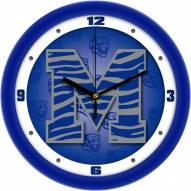 Memphis Tigers Dimension Wall Clock