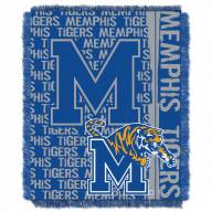 Memphis Tigers Double Play Woven Throw Blanket