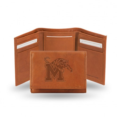Memphis Tigers Embossed Tri-Fold Wallet