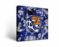 Memphis Tigers Fight Song Canvas Wall Art