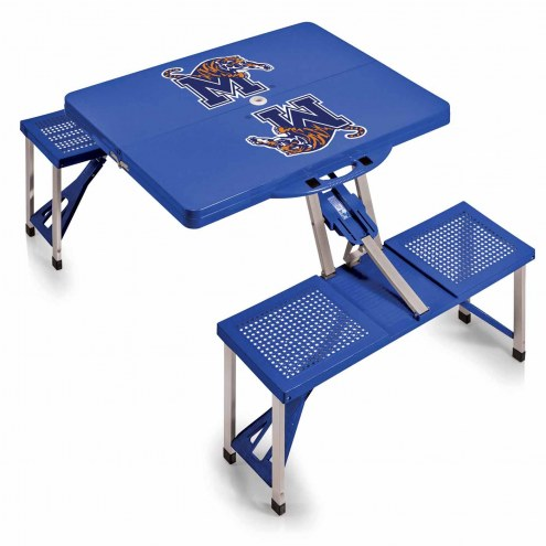 Memphis Tigers Folding Picnic Table