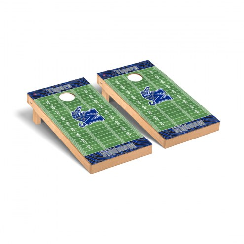Memphis Tigers Football Field Cornhole Game Set