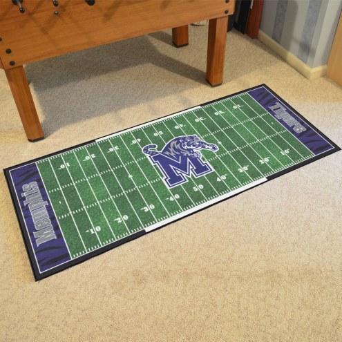 Memphis Tigers Football Field Runner Rug