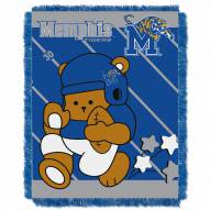 Memphis Tigers Fullback Baby Blanket