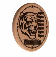 Memphis Tigers Laser Engraved Wood Sign
