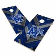 Memphis Tigers Herringbone Cornhole Game Set