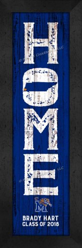 Memphis Tigers Home Away From Home Personalized Wall Decor