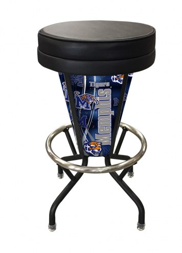 Memphis Tigers Indoor/Outdoor Lighted Bar Stool