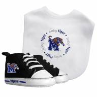 Memphis Tigers Infant Bib & Shoes Gift Set
