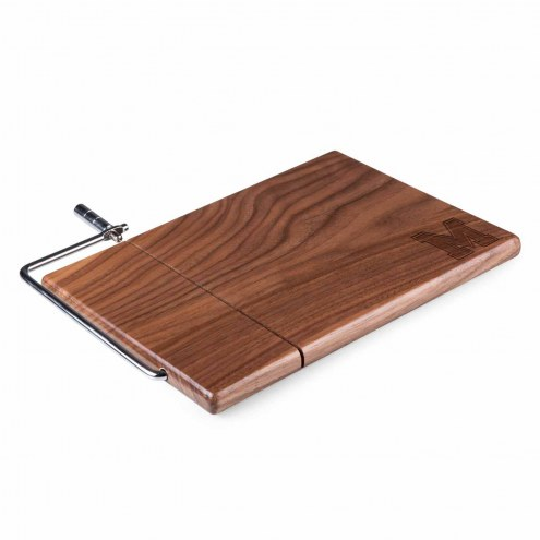 Memphis Tigers Meridian Cutting Board & Cheese Slicer