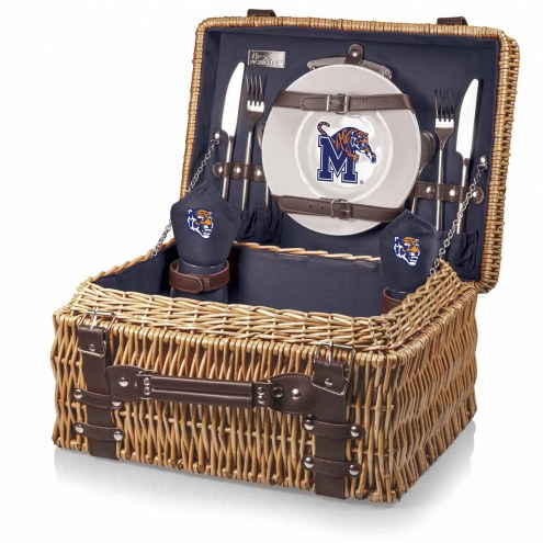Memphis Tigers Navy Champion Picnic Basket