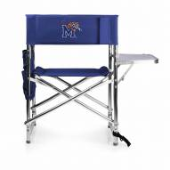 Memphis Tigers Navy Sports Folding Chair