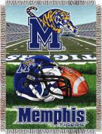 Memphis Tigers NCAA Woven Tapestry Throw Blanket