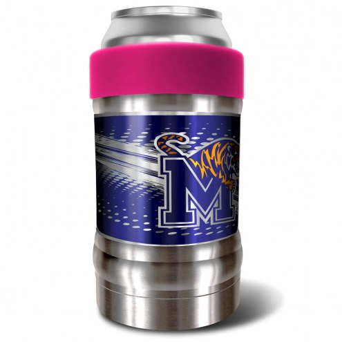 Memphis Tigers Pink 12 oz. Locker Vacuum Insulated Can Holder