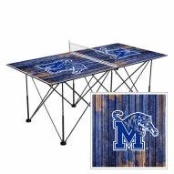 Memphis Tigers Pop Up 6' Ping Pong Table