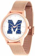Memphis Tigers Rose Mesh Statement Watch